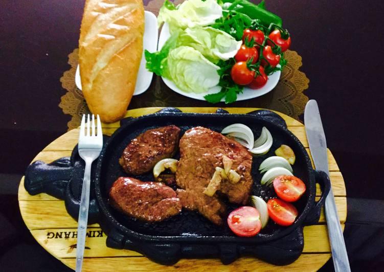 thịt đà điểu né